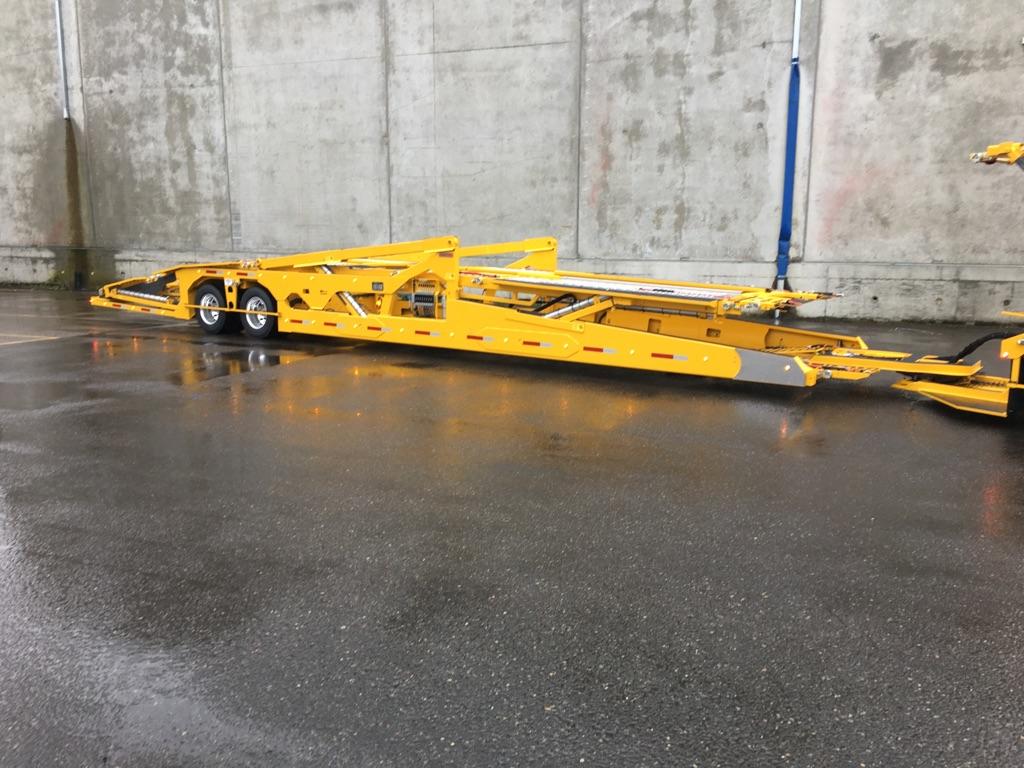 Light-weight Boydstun 9106-48-EZ car hauler trailer