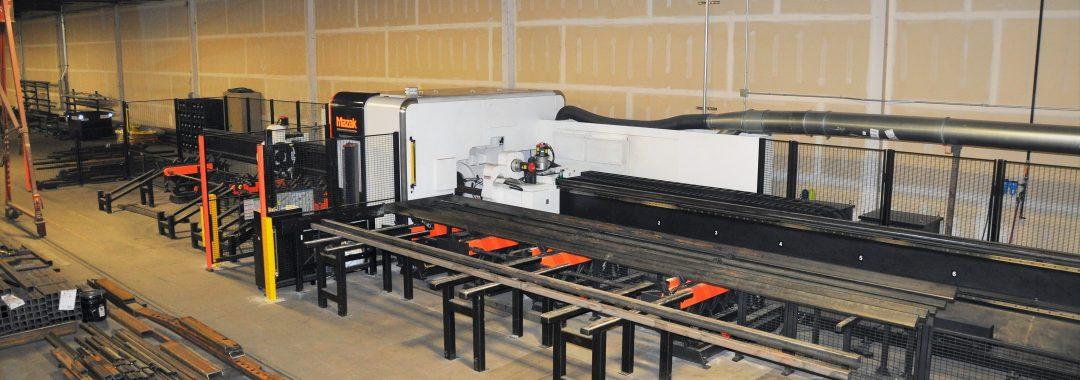 Laser cutting machine at Boydstun Equipment Manufacturing